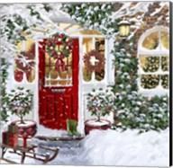 Red Door 3 Fine-Art Print
