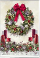 Xmas Wreath Fine-Art Print