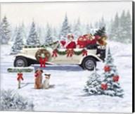 Santa's Car Fine-Art Print