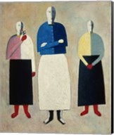 Three Women, c. 1923 Fine-Art Print