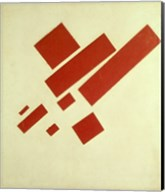 Eight Red Rectangles, 1915 Fine-Art Print