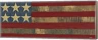 Patriotic Printer Block Panel I Fine-Art Print