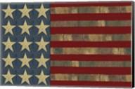 Patriotic Printer Block Flag Fine-Art Print