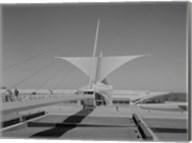 Milwaukee Art Museum, Quadracci Pavilion, 700 North Art Museum Drive, Milwaukee, Milwaukee County, WI Fine-Art Print