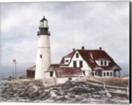 Winter At Portland Head Fine-Art Print