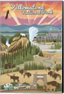 Yellowstone Park Scene Fine-Art Print