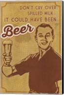 Spilled Milk And Beer Fine-Art Print