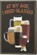 I Need Glasses Of Beer Fine-Art Print