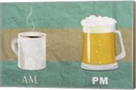 AM Coffee PM Beer Fine-Art Print