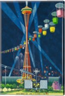 Seattle World's Fair 1962 I Fine-Art Print