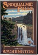 Snoqualmie Falls Washington Fine-Art Print