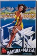 Marina Di Massa Italian Ad Fine-Art Print