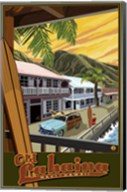 Old Lahaina Hawaii Ad Fine-Art Print