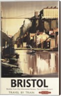 Bristol British Airways Booklet Fine-Art Print