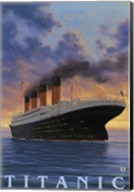 Titanic Yacht Ad Fine-Art Print