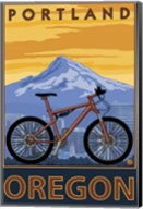 Portland Oregon Bike Ad Fine-Art Print