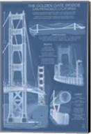 The Golden Gate Bridge Plans Fine-Art Print