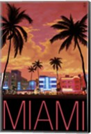 Miami City Palms Scene Fine-Art Print