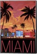 Miami City Palms Scene Fine-Art Print