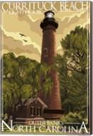 Currituck Beach Lighthouse Carolina Fine-Art Print