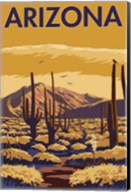 Arizona Cactus Scene Fine-Art Print