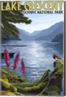 Lake Crescent Olympic Park Fine-Art Print
