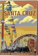 Santa Cruz Boardwalk Fine-Art Print