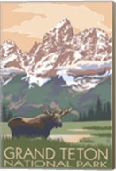 Grand Teton National Park Moose Fine-Art Print