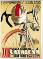 Vuelta Ciclista XXIII Cataluna Bicycle Fine-Art Print