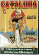 Vuelta Ciclista XXXVI Cataluna Bicycle Fine-Art Print