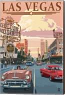 Las Vegas (vintage ad) Fine-Art Print
