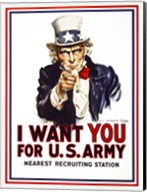 I Want You For U.S. Army Fine-Art Print