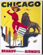Chicago, Braniff International Airways Fine-Art Print