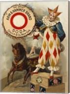 Clown, Horse, Acrobat and Arm & Hammer Brand Soda Fine-Art Print