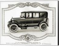 Morris Motors Automobile, from Penrose Annual Fine-Art Print