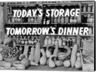 Today's Storage, Tomorrow's Dinner Fine-Art Print