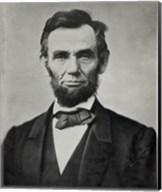 Abraham Lincoln, Head and Shoulders Fine-Art Print