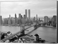 Brooklyn Bridge and World Trade Center, Lower Manhattan Fine-Art Print
