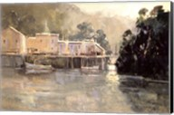 Morning Harbor, Mendocino Fine-Art Print