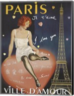 Paris I Love You Fine-Art Print