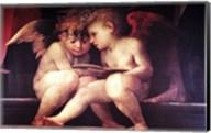 Two Redhead Cherubs Fine-Art Print