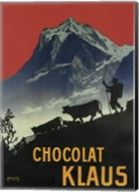 Chocolat Klaus Mountains Switzerland, 1910 Fine-Art Print