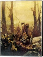 Mural Forest Marines Fine-Art Print