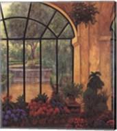 Arches & Flowers Fine-Art Print
