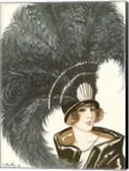 Lavie Parisienne Featherhat Fine-Art Print