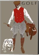 Bulldog Golf Fine-Art Print