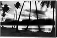 Sunset at Raiatea, French Polynesia Fine-Art Print