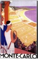 Monte Carlo Tennis Fine-Art Print