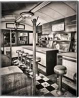 Retro Diner Fine-Art Print