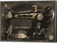 Vintage Sewing Machine Fine-Art Print